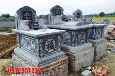 Mẫu mộ đá xanh thanh hóa đẹp nhất 2021 – Mẫu mộ đá xanh đẹp