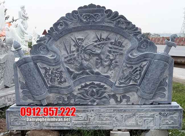 Mẫu cuốn thư bằng đá đẹp nhất 2021 được chế tác tại Ninh Bình