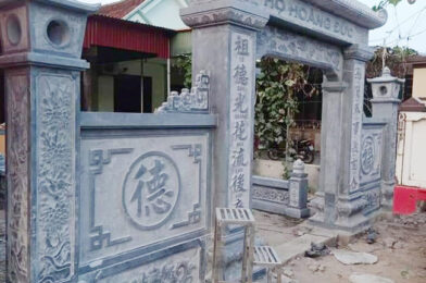 Cổng nhà thờ tộc – Các mẫu cổng nhà thờ tộc bằng đá đẹp