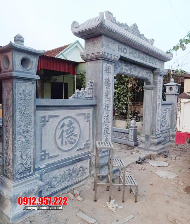 mẫu cổng nhà thờ tộc