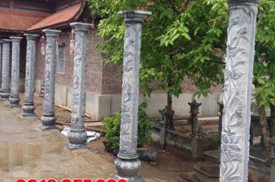 Các mẫu cột đá nhà thờ họ đẹp nhất 2021 chạm khắc hoa văn tinh xảo