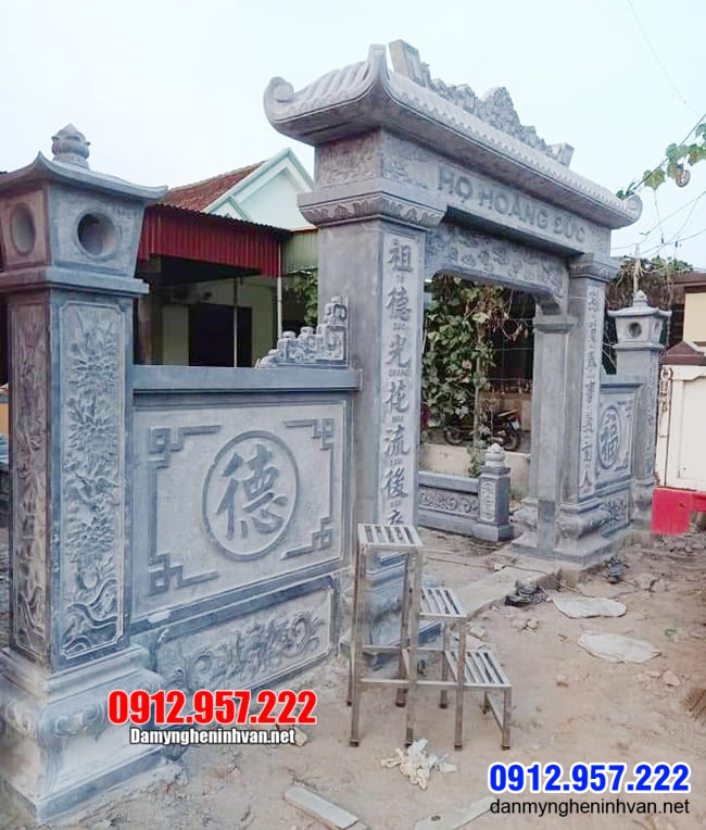 Các mẫu cổng nhà thờ họ đẹp lắp đặt tại Bắc Ninh