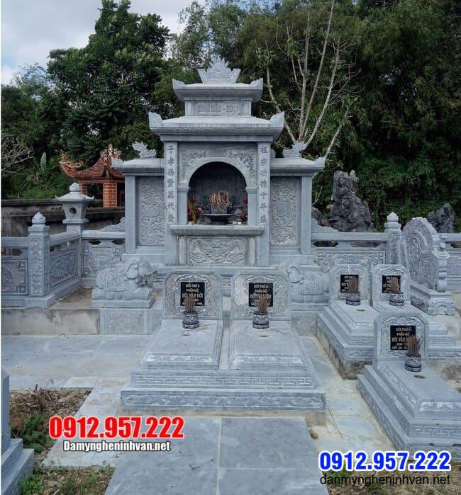 khu lăng mộ tại Bình Dương