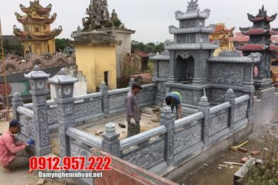 Lăng mộ đá tại Bình Phước – Mẫu khu lăng mộ bằng đá tại Bình Phước