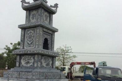 Các mẫu tháp đá để tro cốt đẹp lắp đặt tại Bạc Liêu – Sóc Trăng – Cà Mau