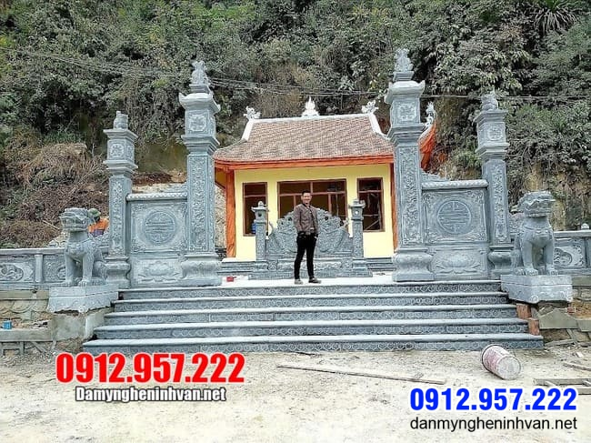 các mẫu cổng nhà thờ họ đẹp tại Thái Nguyên