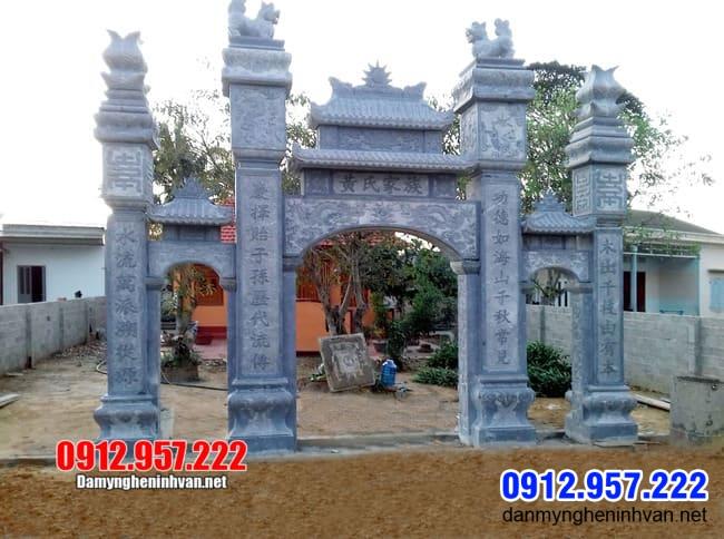 Địa chỉ làm cổng tam quan bằng đá tại Hà Nam uy tín, mẫu mã đẹp