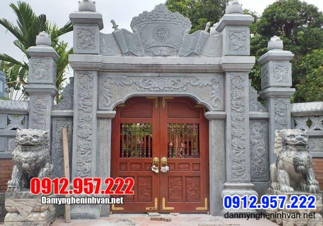 cổng nhà thờ họ đẹp nhất tại Thái Nguyên