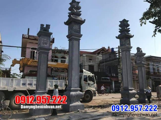 cổng nhà thờ họ đẹp tại Thái Nguyên