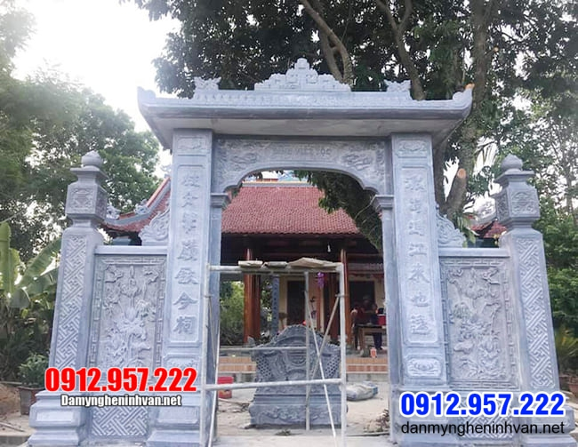 cổng nhà thờ tộc tại Thái Nguyên
