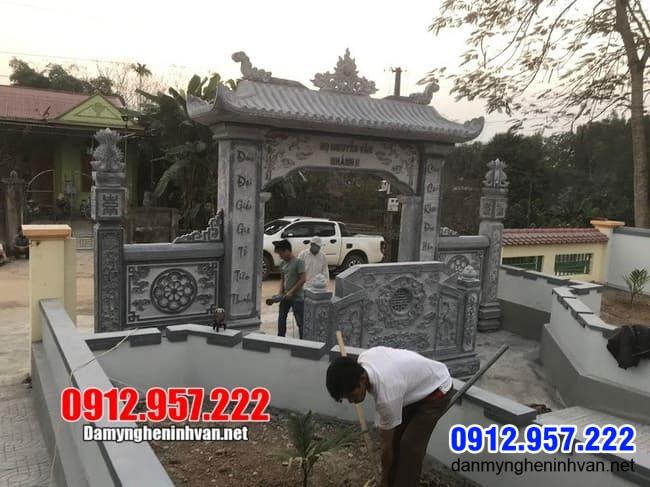 Cổng tam quan bằng đá tại Lạng Sơn, mẫu cổng đá đẹp nhất tại Lạng Sơn