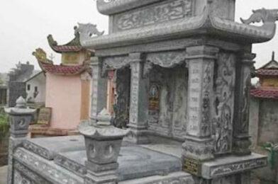 5 Kiểu mộ đôi đẹp làm bằng đá ưa chuộng tại Cần Thơ