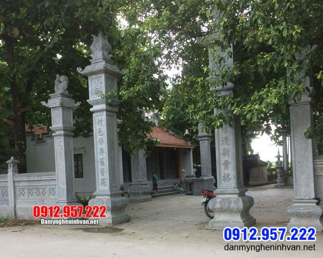Mẫu cổng chùa tại Bạc Liêu - Cổng tam quan chùa bằng đá đẹp nhất
