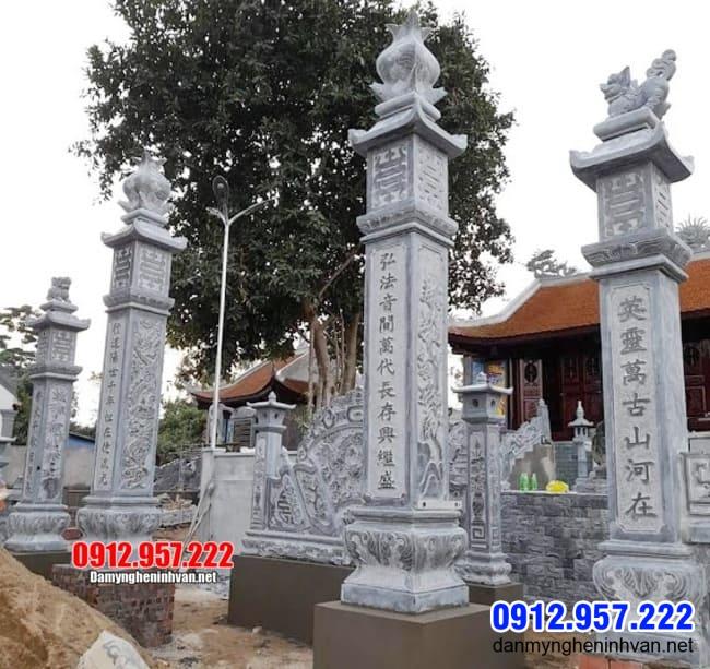 Mẫu cổng tam quan đá đẹp nhất tại Bạc Liêu