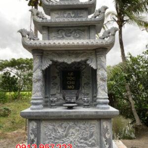 Các mẫu tháp đá để tro cốt đẹp lắp đặt tại Bạc Liêu - Sóc Trăng - Cà Mau