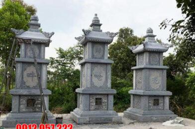 Tháp mộ đá đẹp tại Cần Thơ – Mẫu mộ tháp đá thờ hũ tro cốt tại Cần Thơ