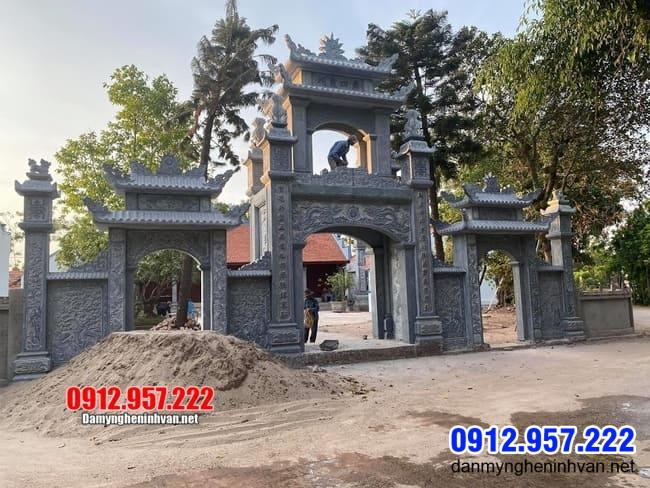 cổng đá đẹp nhất tại Bạc Liêu