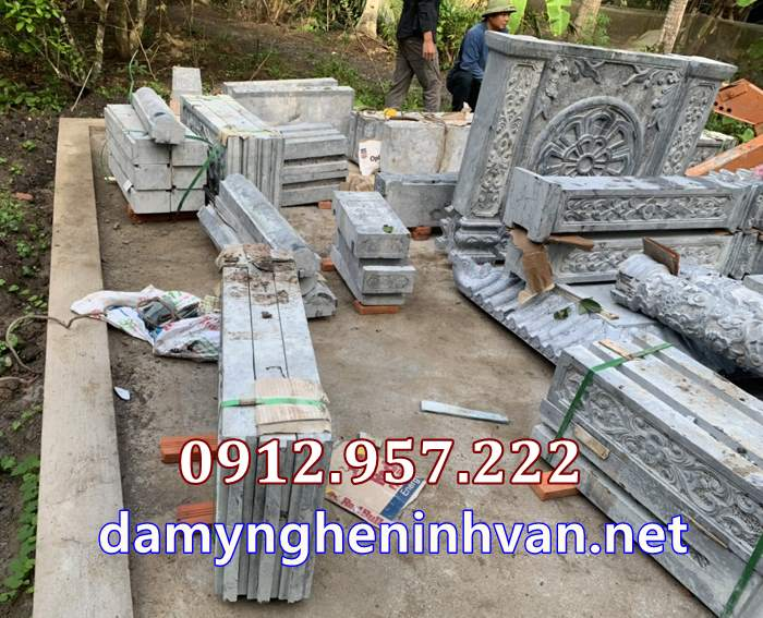 đá khối nhà mồ tại Vĩnh Long