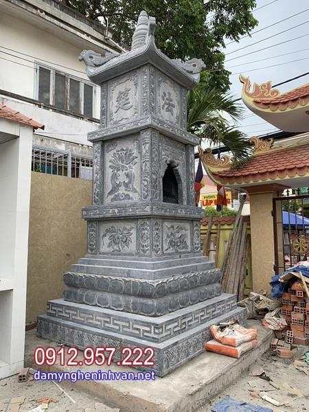 lắp đặt mộ tháp đá đẹp nhất tại Hậu Giang