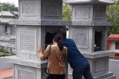 Top mẫu tháp để tro cốt đẹp tại Trà Vinh – Mẫu mộ tháp đá đẹp tại Trà Vinh
