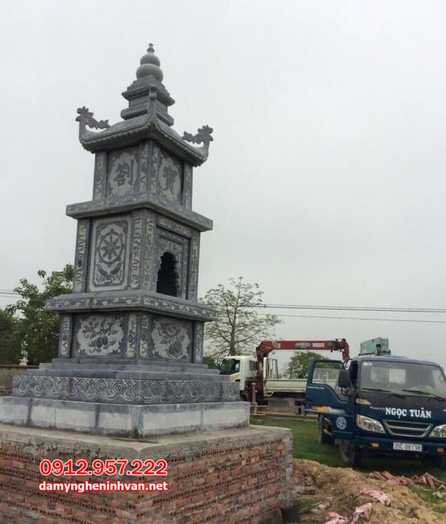 mẫu tháp để tro cốt đẹp tại Trà Vinh