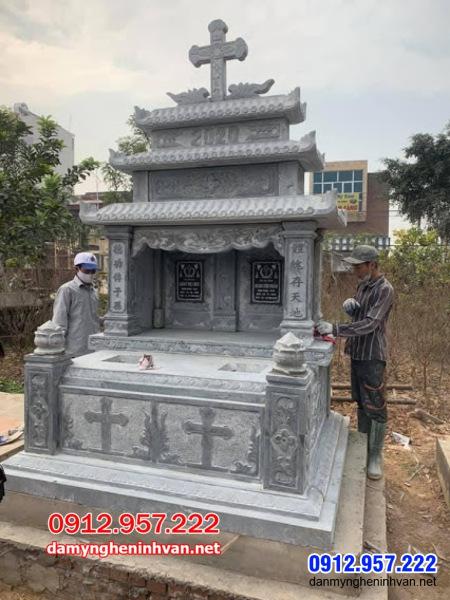 mộ đá đôi đẹp nhất tại An Giang