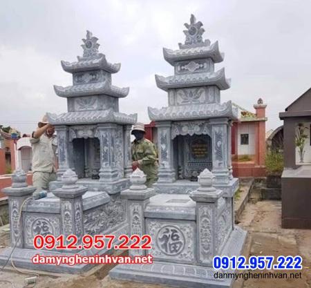 mộ đôi bằng đá tại An Giang đẹp nhất