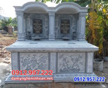 mộ đôi đá đẹp nhất tại An Giang