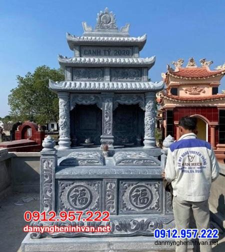mộ đôi đá đẹp tại An Giang