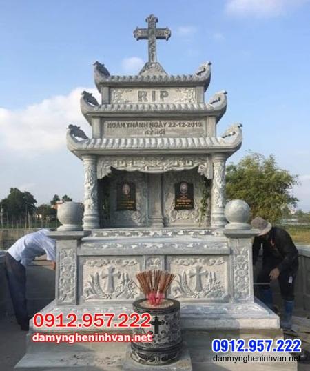 mộ đôi đá tại An Giang