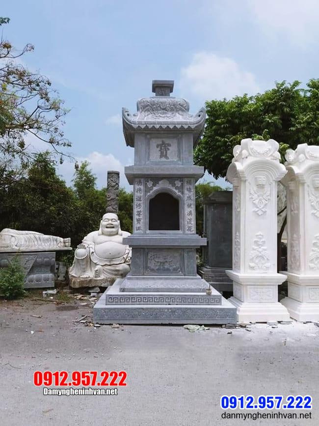 mộ tháp đá đẹp nhất tại Bến Tre