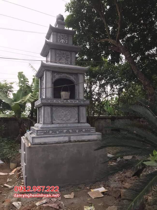 mộ tháp đá tại Trà Vinh đẹp nhất