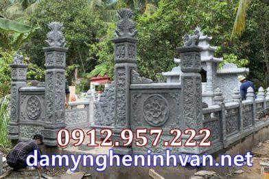 Lắp đặt nhà mồ song thân khu mộ gia đình tại Vũng Liêm Vĩnh Long