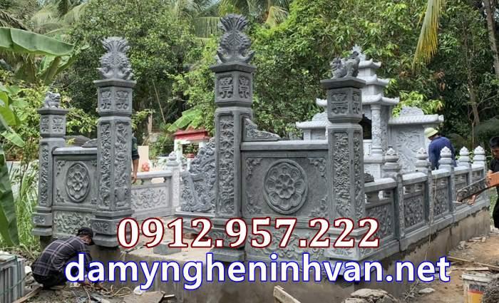 Nhà mồ song thân khu mộ gia đình tại Vĩnh Long