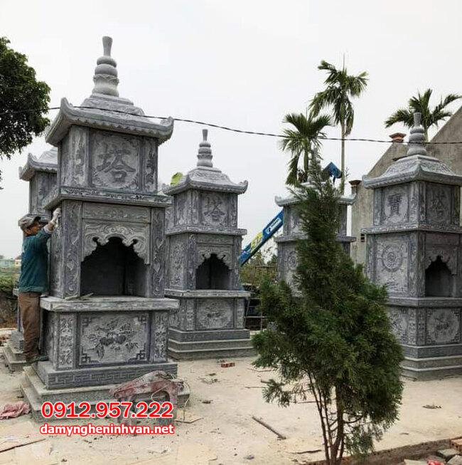 tháp để tro cốt đẹp tại Trà Vinh