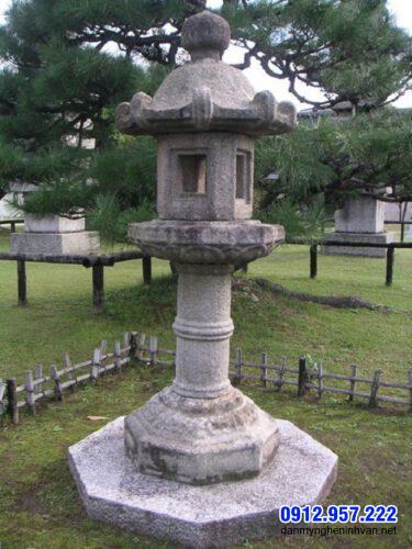 Đèn đá sân vườn kiểu Nhật đẹp