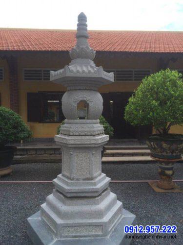 Mẫu đèn đá trang trí sân vườn đẹp