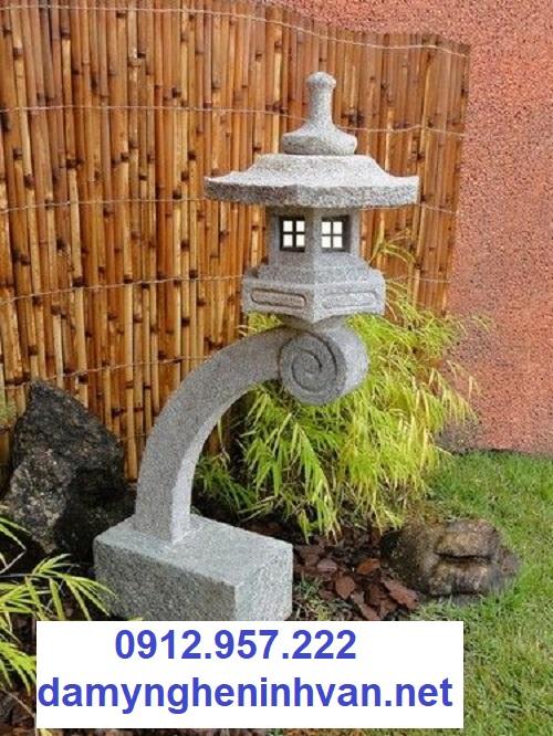 Mẫu đèn đá sân vườn biệt thự kiểu Nhật đẹp