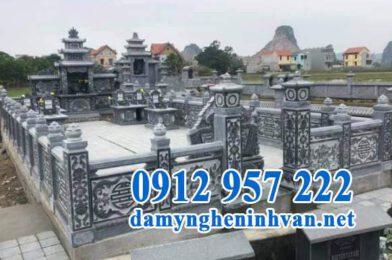 Kiến trúc khu lăng mộ đá và địa chỉ lắp đặt lăng mộ đẹp