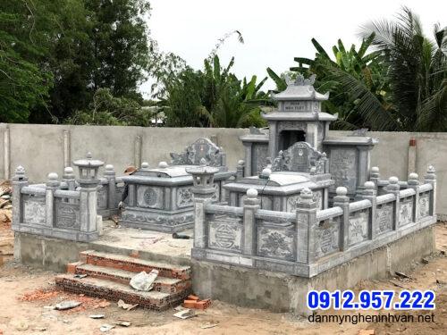Mẫu mộ song thân hợp phong thủy