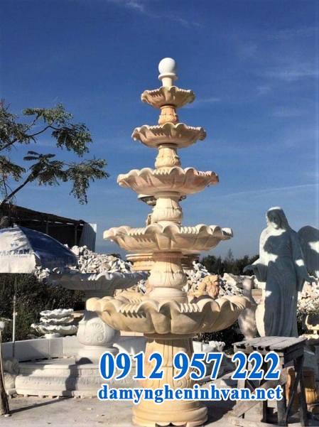 Mẫu đài phun nước sân vườn biệt thự