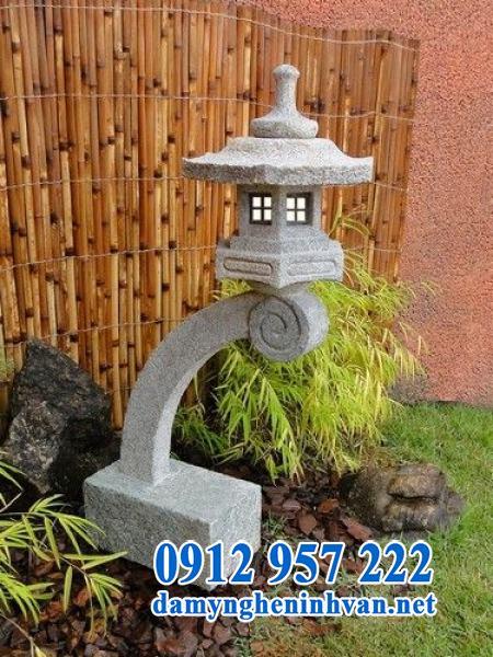 Đèn đá sân vườn kiểu Nhật