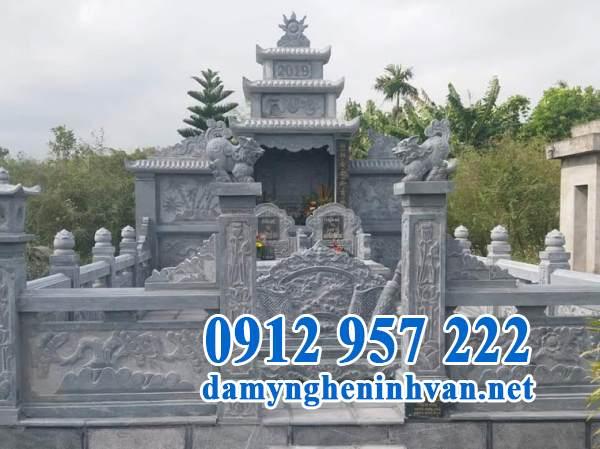 Địa chỉ thiết kế lăng mộ đá theo yêu cầu