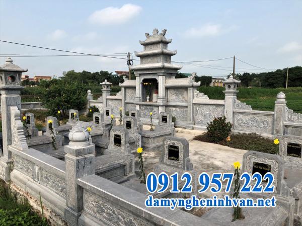 Kiến trúc khu lăng mộ đá đẹp