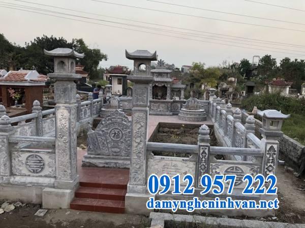 Mẫu lăng mộ đẹp bằng đá tự nhiên