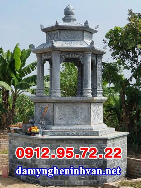 Mẫu mộ tháp đá để hài cốt đẹp