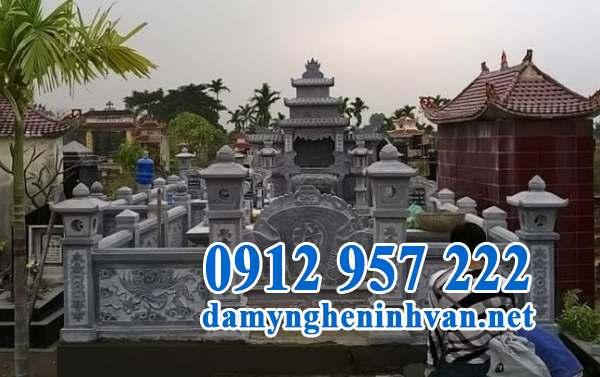 Lăng mộ đá Ninh Bình đơn giản