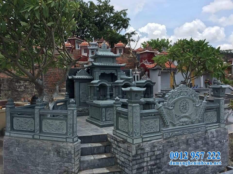 Lăng mộ đá xanh rêu Thanh Hóa khác gì so với lăng mộ đá thông thường