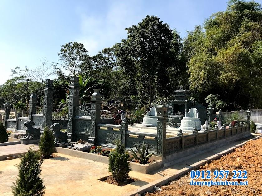 Kiến trúc bên trong khu lăng mộ