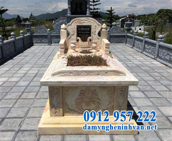 Mộ đá Ninh Bình đơn giản, đẹp